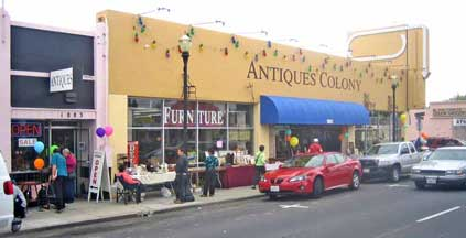 DUE TO THE THANKSGIVING HOLIDAY AND WEEKEND, THE END OF THE MONTH WAREHOUSE  SALE HAS BEEN POSTPONED ONE WEEK. Dec. SALE Dates: Sat & Sun Dec. - Antiques Colony: Largest Retail Antique Furniture Store In San