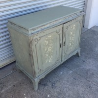 Chalk Painted Cabinet