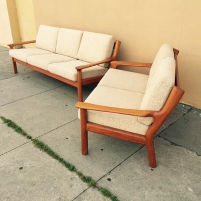 Danish Sofa Set