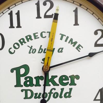 Parker Pen Clock